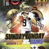 Sunday Funday Saints Vs Rams
