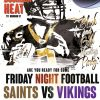 Saints vs Vikings 2k19
