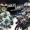 Saints vs Eagles 2018