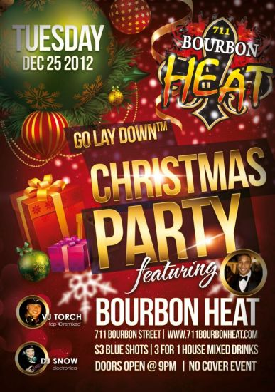 Bourbon Heat Rock'n Christmas Night | Bourbon Heat